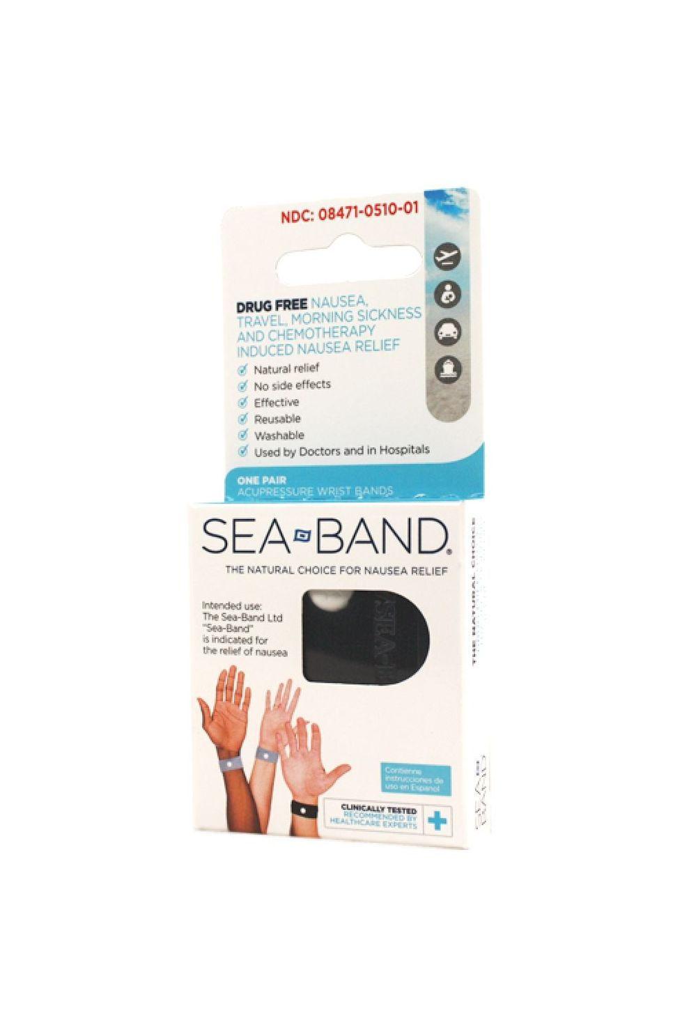 Sea Band Diverse Sea Band Adults - Zwart