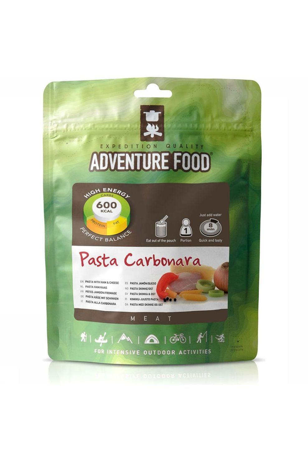 Adventure Food Maaltijd Pasta Carbonara 1P - - Transparant