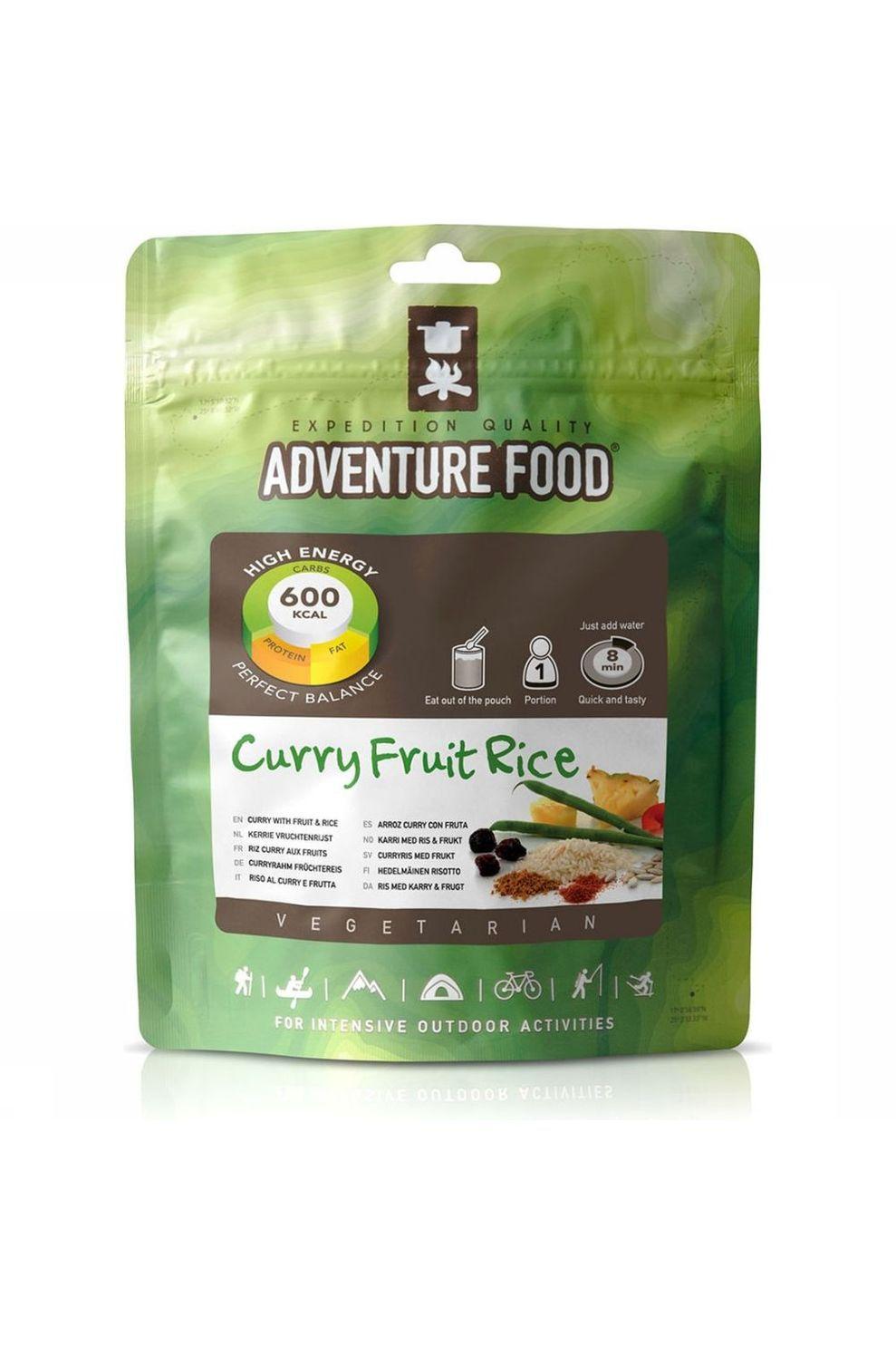 Adventure Food Maaltijd Curry Fruit Rice 1P - - Transparant