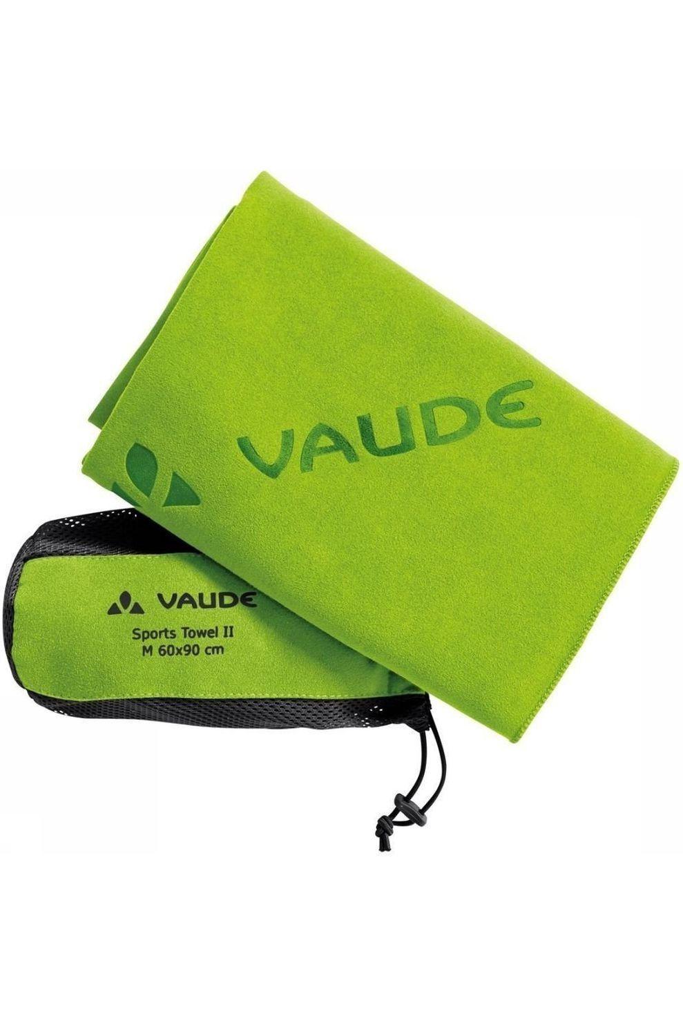 VAUDE Handdoek Sports Towel II S - Groen