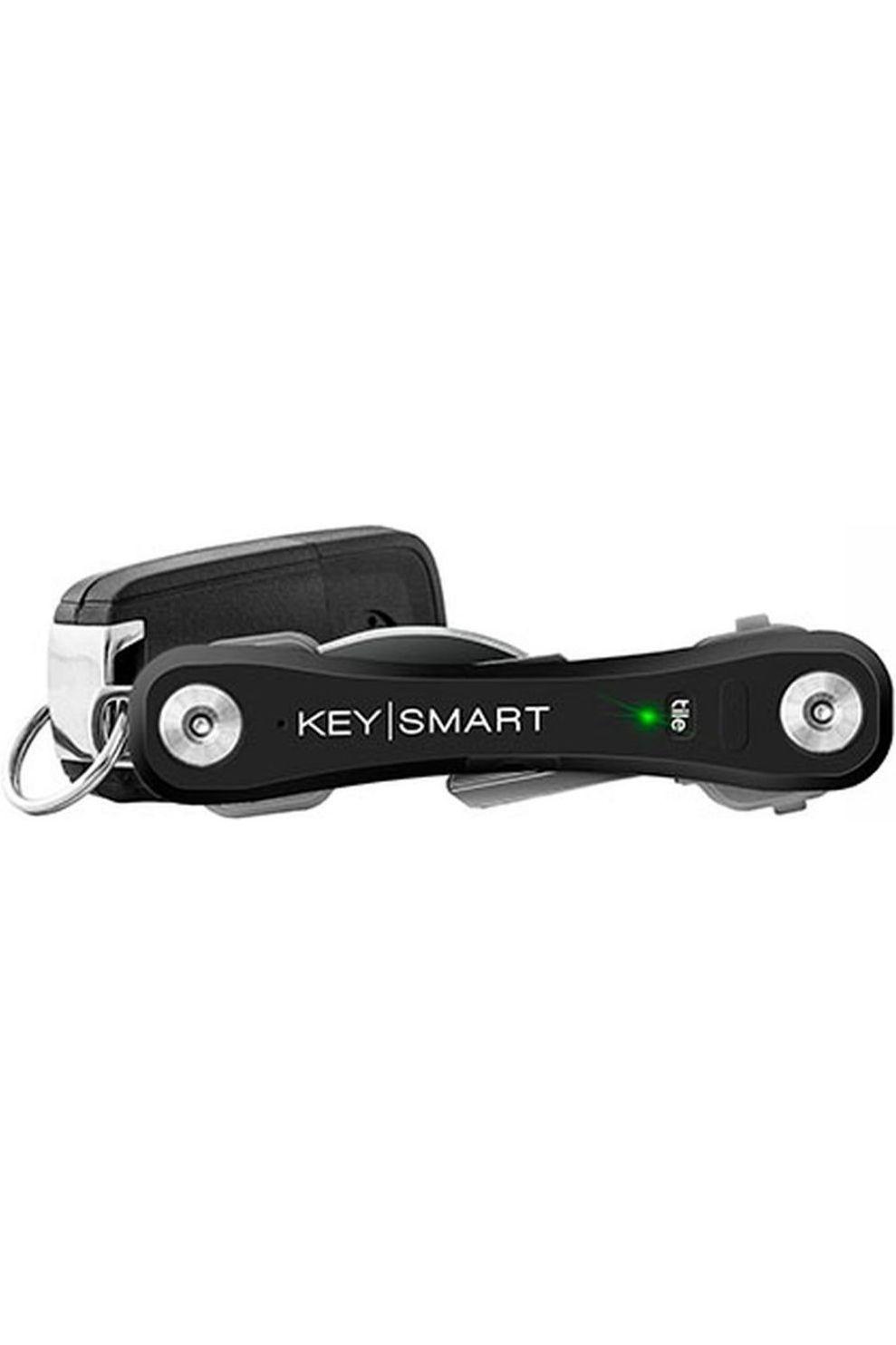 Keysmart Sleutelhouder Pro With Tile Smart - Zwart
