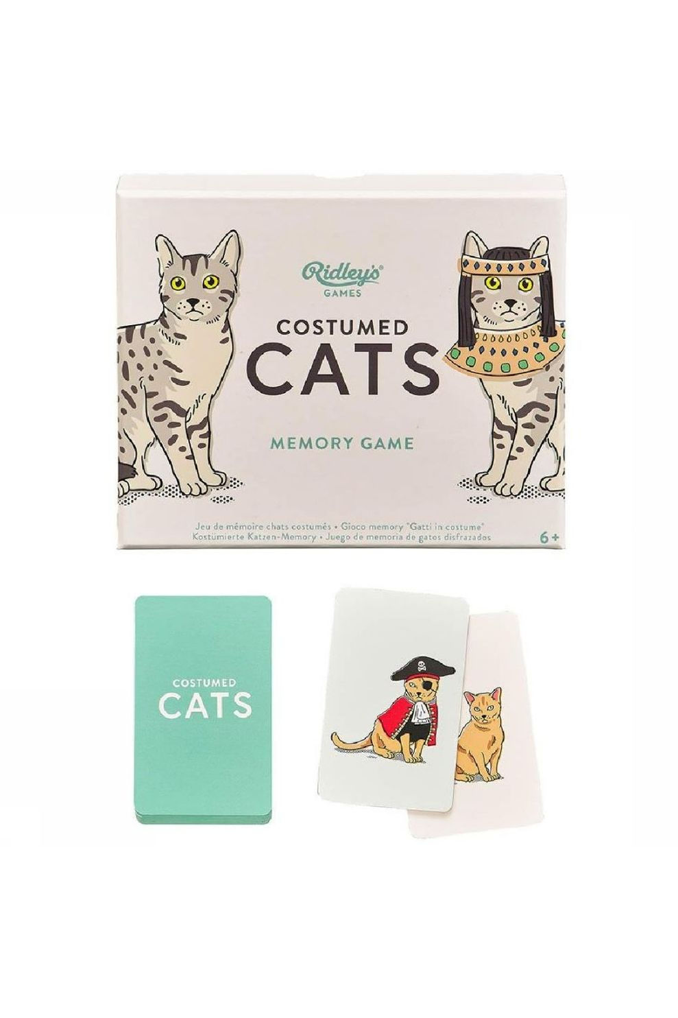 Ridley's Spel Costume Cats Memory Game - - Transparant