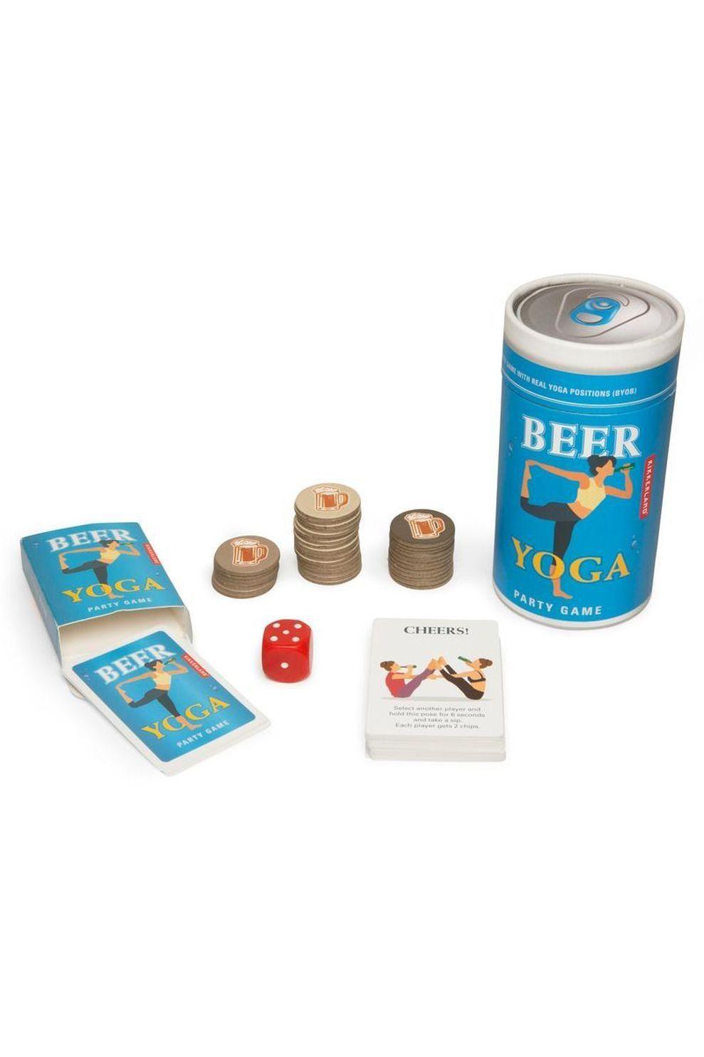 Kikkerland Spel Beer Yoga