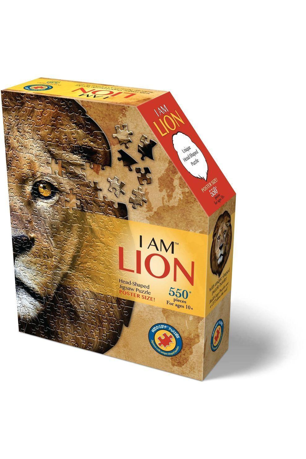 Madd Capp Spel I Am Lion Puzzle 550Pcs