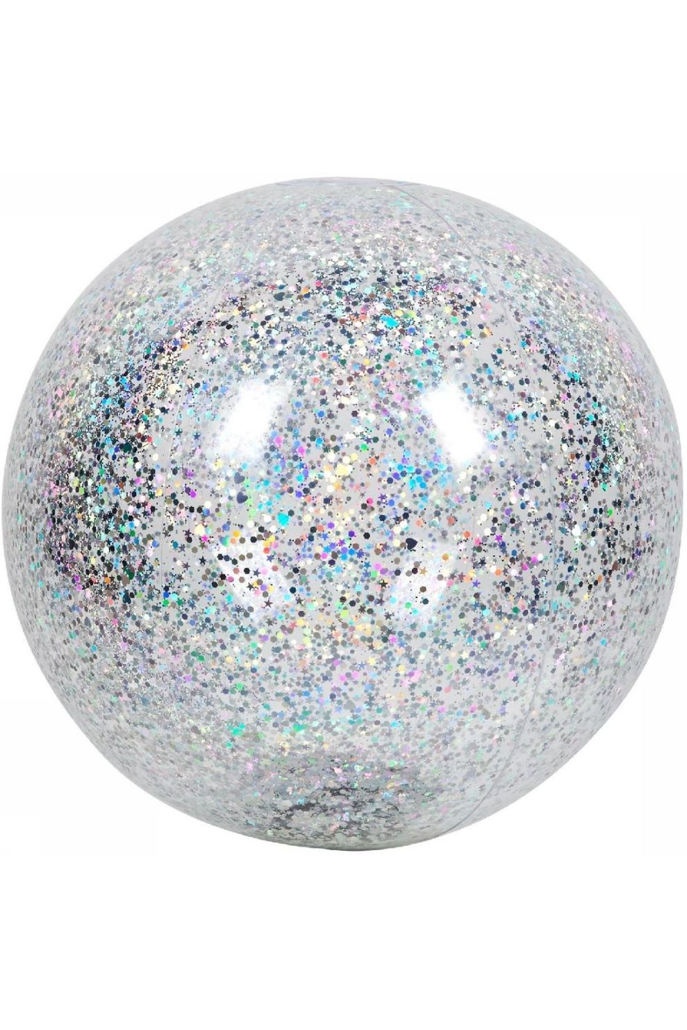 Sunnylife Speelgoed Inflatable Beach Ball Glitter - Grijs
