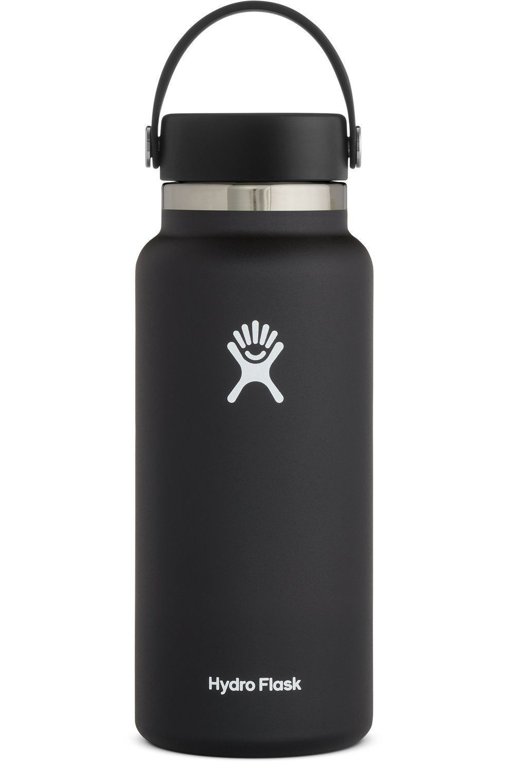 Hydro Flask Isolatiefles 32oz/946ml Wide Mouth - Zwart