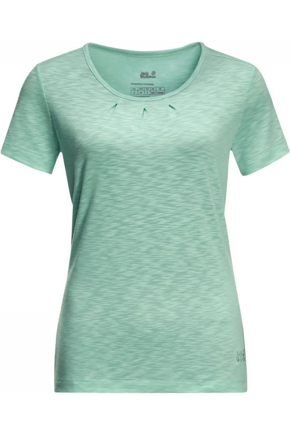 Jack Wolfskin T-Shirt Travel Drape T voor dames - Blauw - Maten: XS, S, M, L, XL, XXL