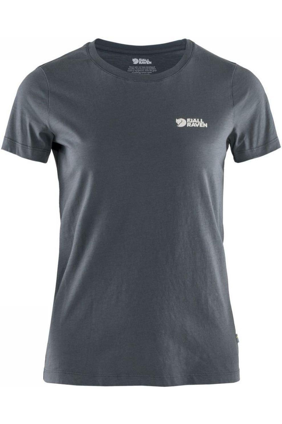 Fjällräven T-Shirt Torneträsk voor dames - Blauw - Maten: XXS, XS, S, M, L, XL
