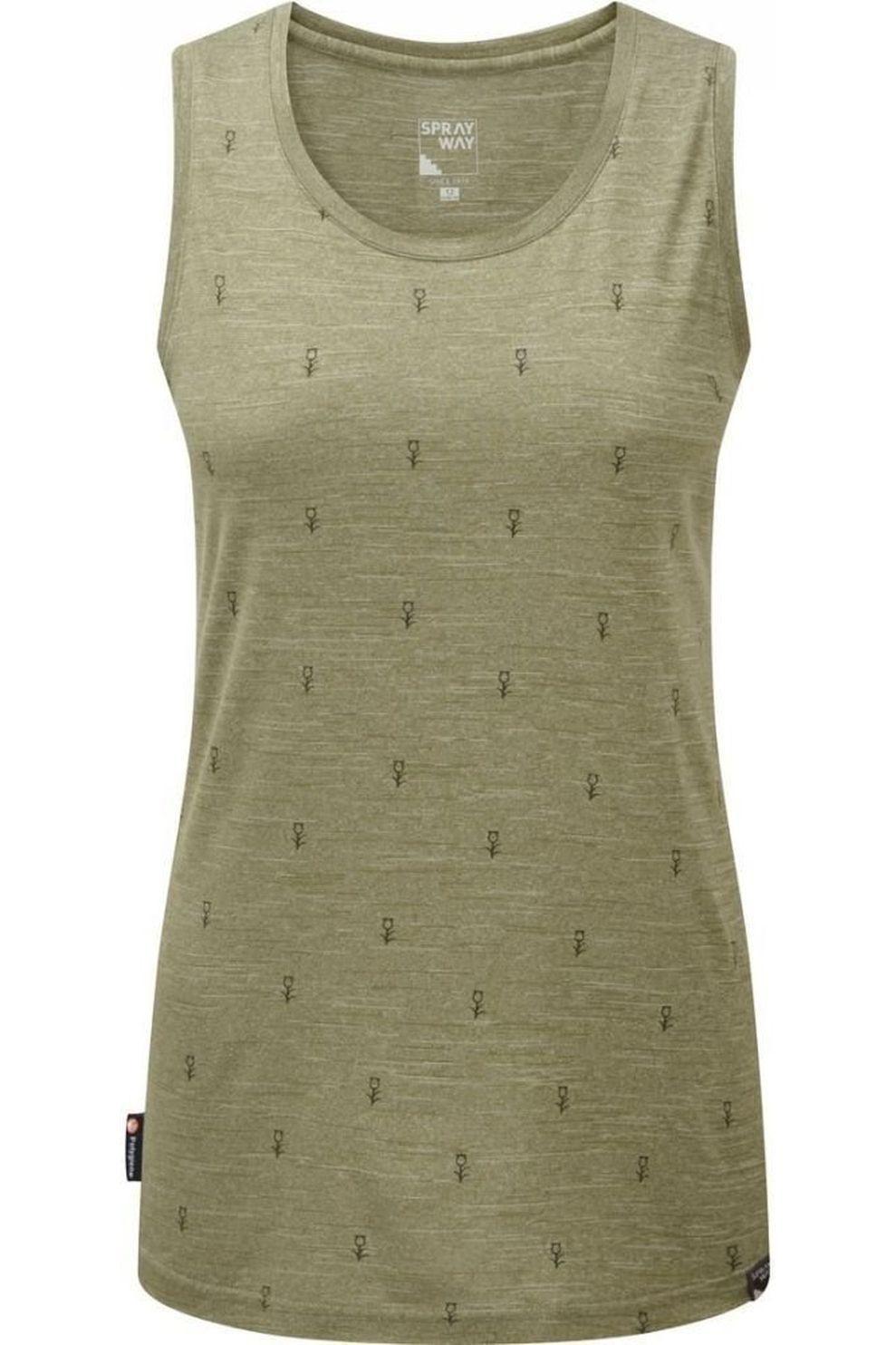 Sprayway Top Thistle Vest voor dames - LichtGroen - Maat: S