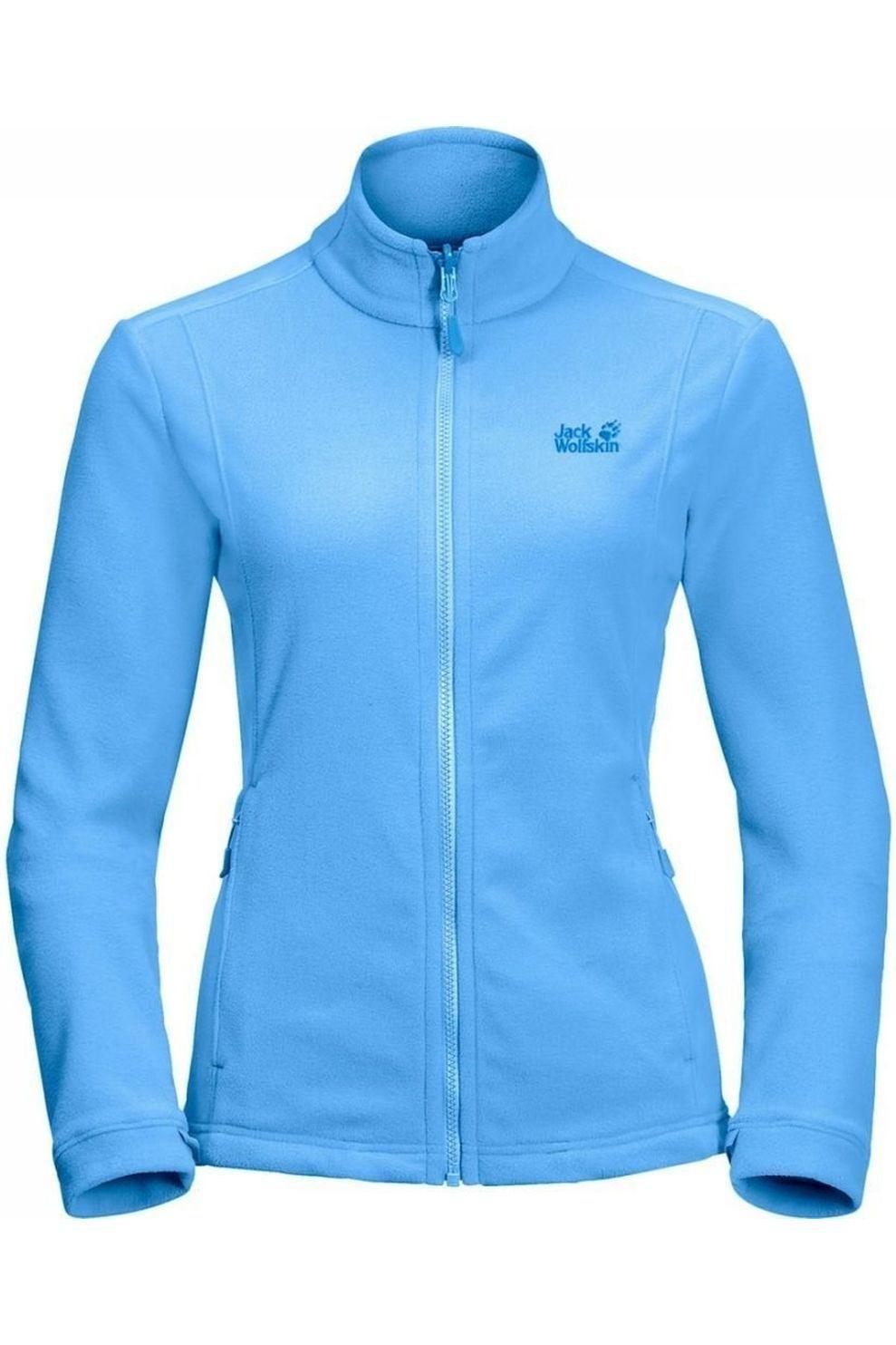 Jack Wolfskin Fleece Kiruna Eco voor dames Blauw Maten: S, M, L, XL