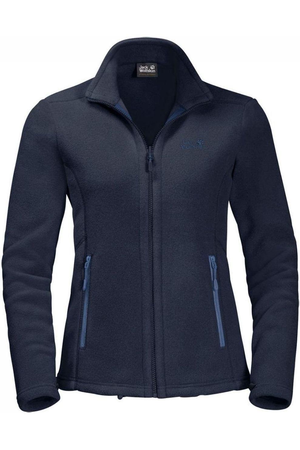Jack Wolfskin Fleece Moonrise Eco voor dames Blauw Maten: S, M, L, XL, XXL