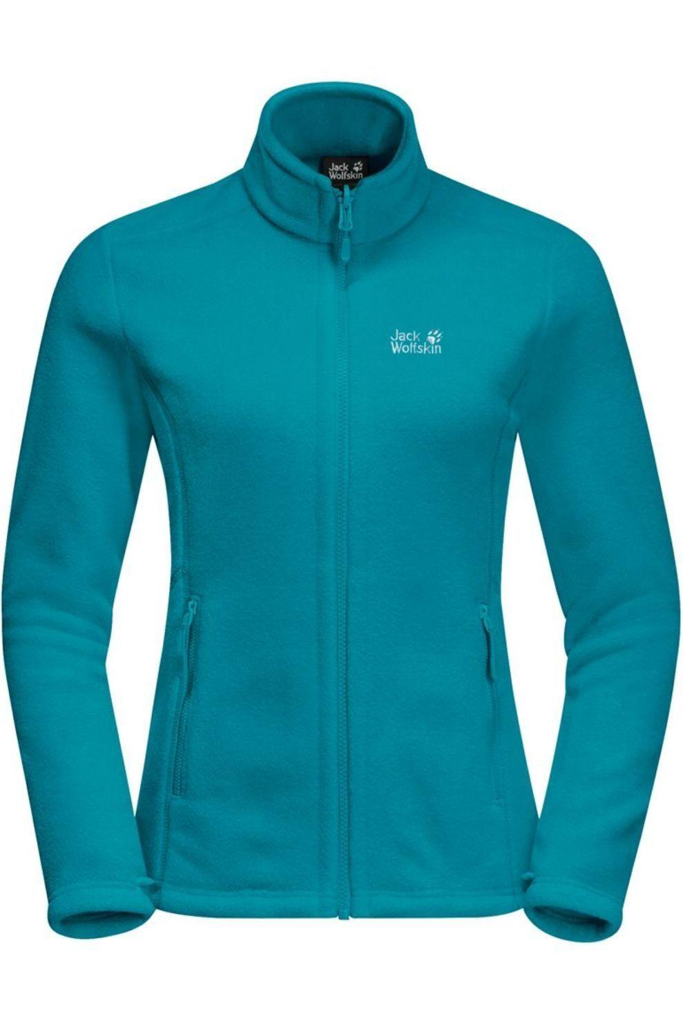 Jack Wolfskin Fleece Moonrise Eco voor dames Blauw Maten: XS, S, M, L, XL, XXL