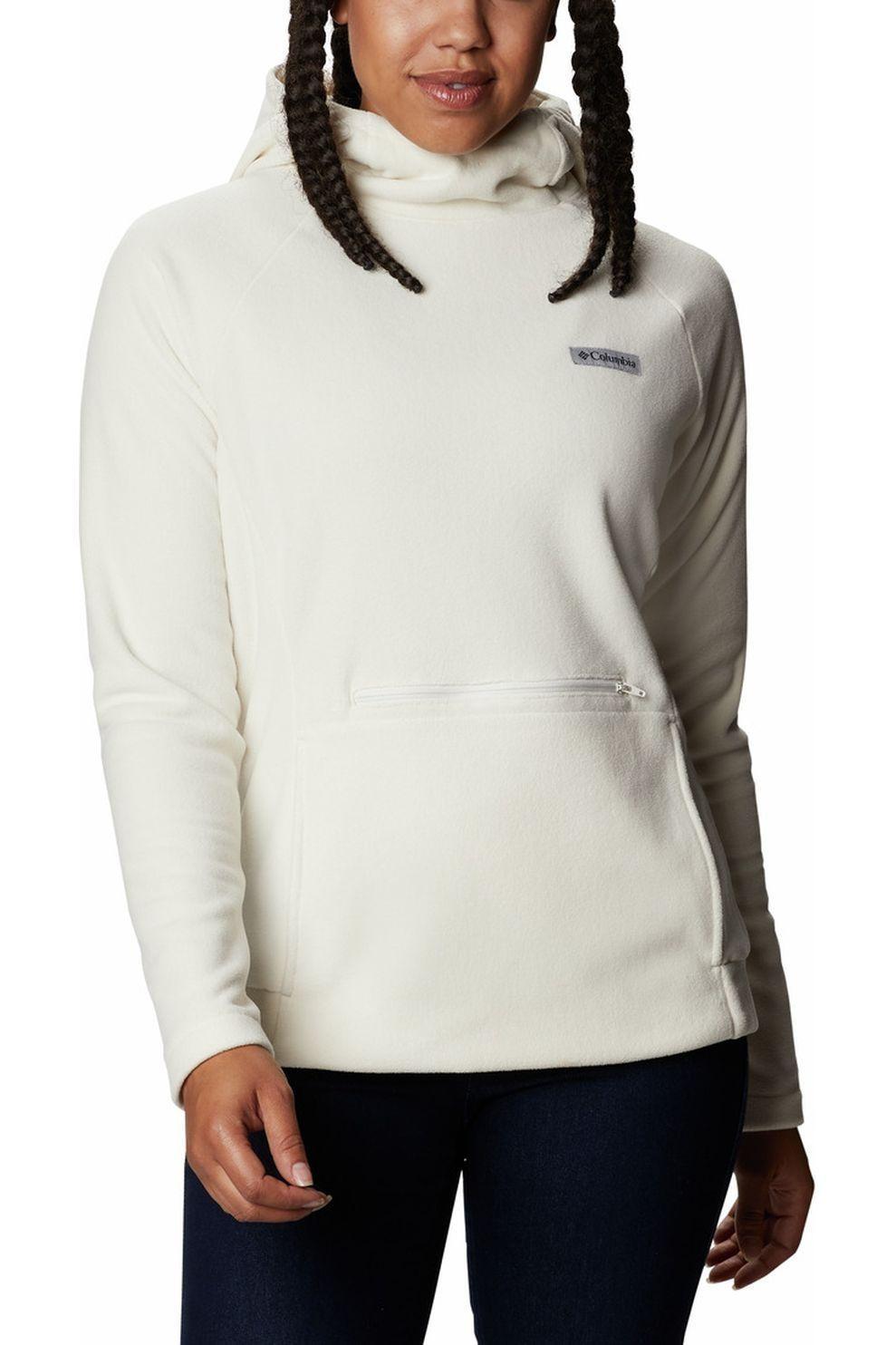 Columbia Trui Ali Peak Hooded Fleece voor dames - Wit - Maten: L, XL