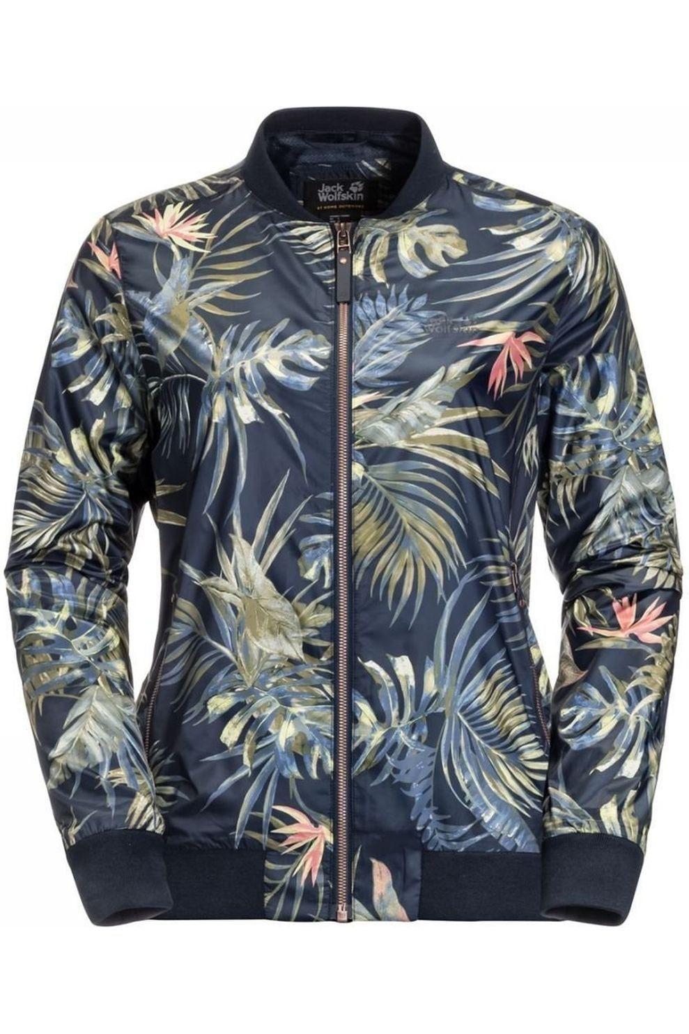 Jack Wolfskin Windstopper Tropical Blouson voor dames Blauw Maten: S, M, L, XL, XXL