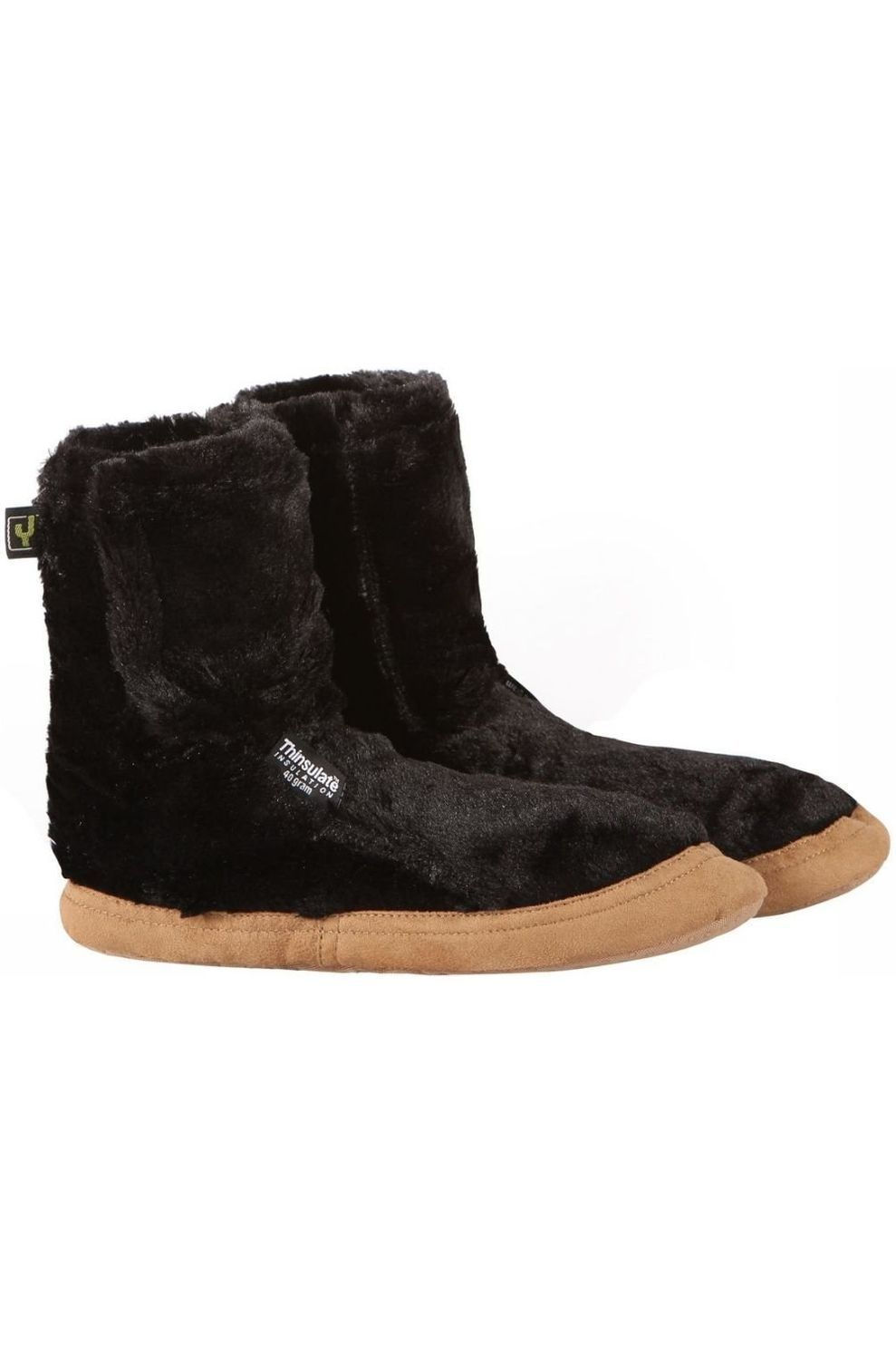 Ayacucho Pantoffels Super Soft voor dames - Zwart - Maat: 35/36