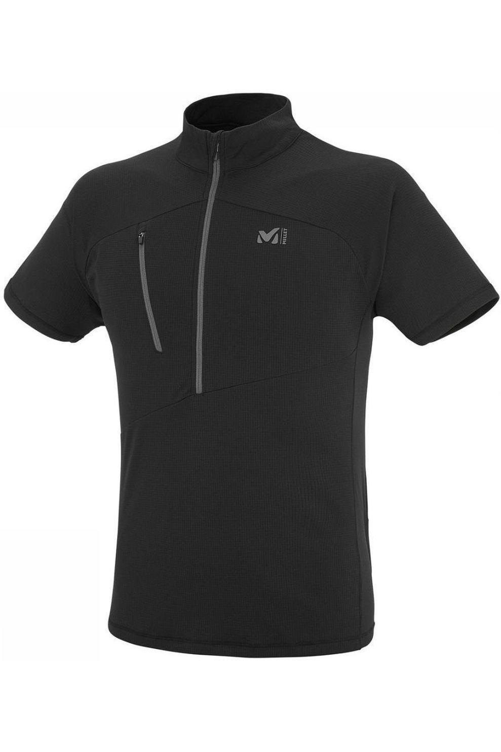 Millet T-Shirt Elevation Zip voor heren - Zwart - Maat: L