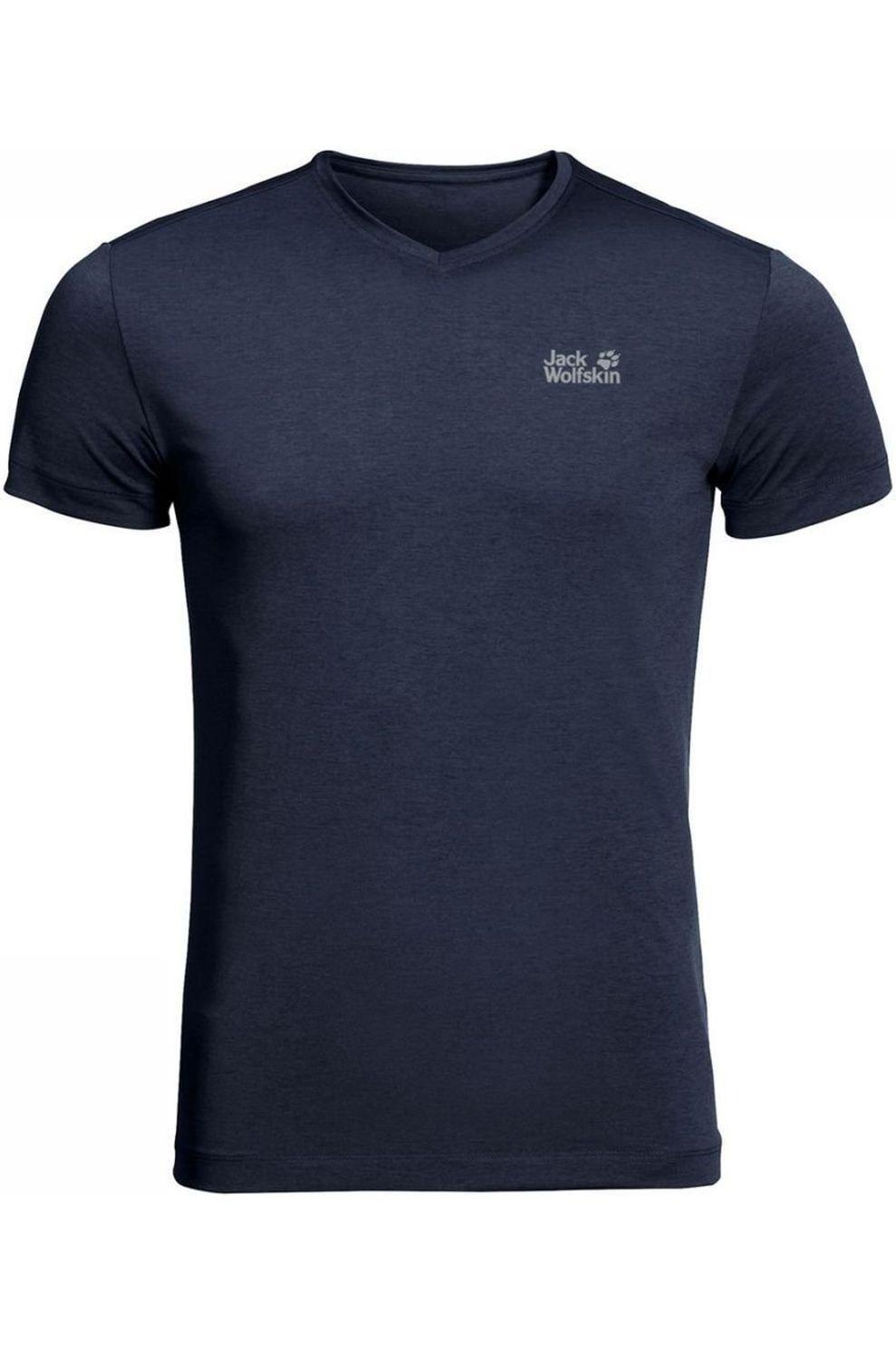 Jack Wolfskin T-shirt Jwp Pack And Go! voor heren Blauw Maten: M, L, XL, XXL