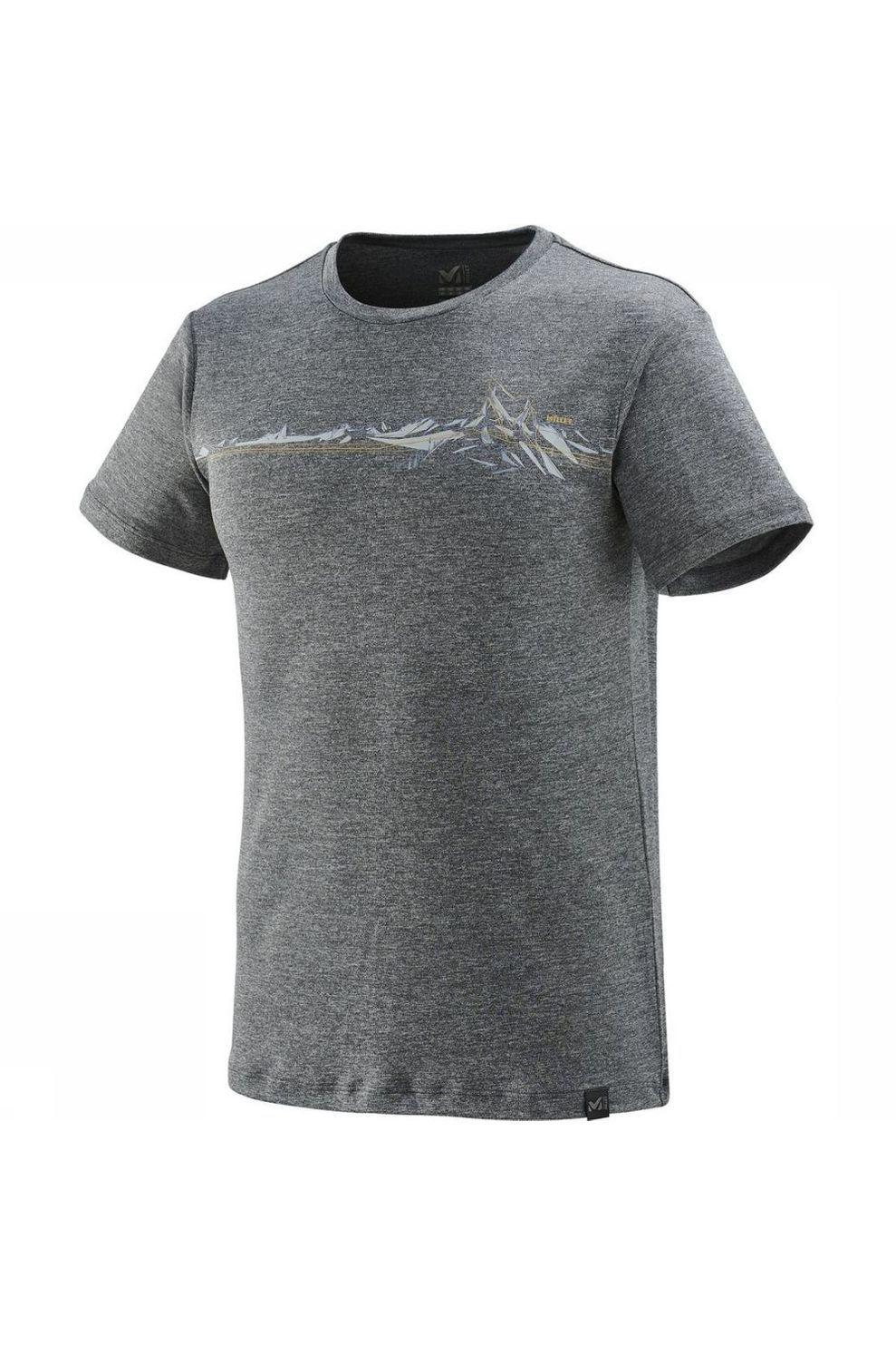 Millet T-Shirt Boren voor heren - Grijs - Maten: S, M, L, XL