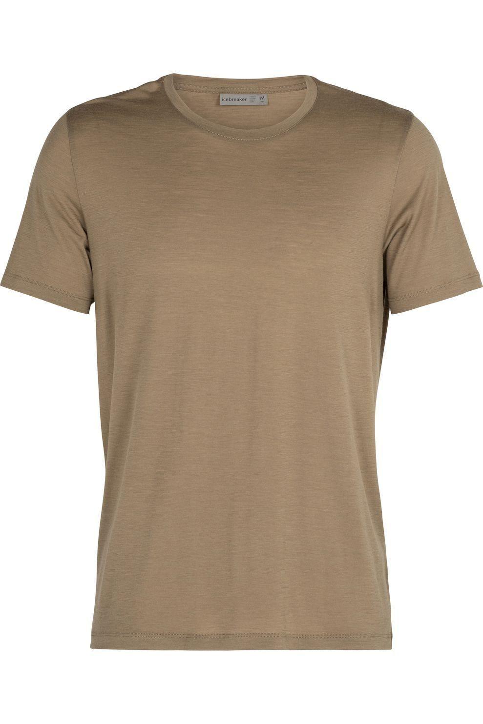 Icebreaker T-Shirt Tech Lite Ss Crewe voor heren - MiddenGroen - Maten: S, M, L, XL