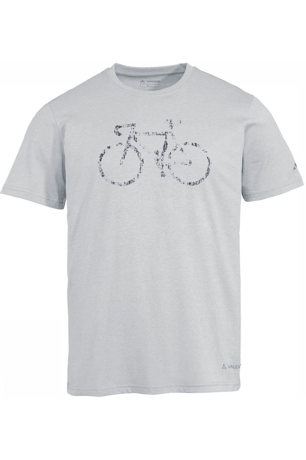VAUDE T-Shirt Men'S Cyclist T-Shirt V voor heren - Grijs - Maat: L