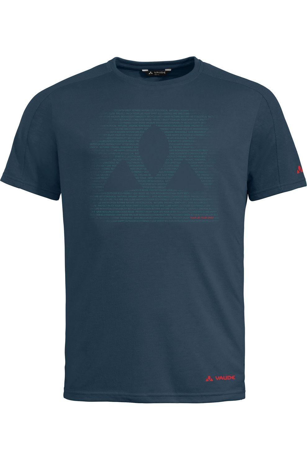VAUDE T-Shirt Gleann voor heren - Blauw - Maten: S, M, L, XL, XXL