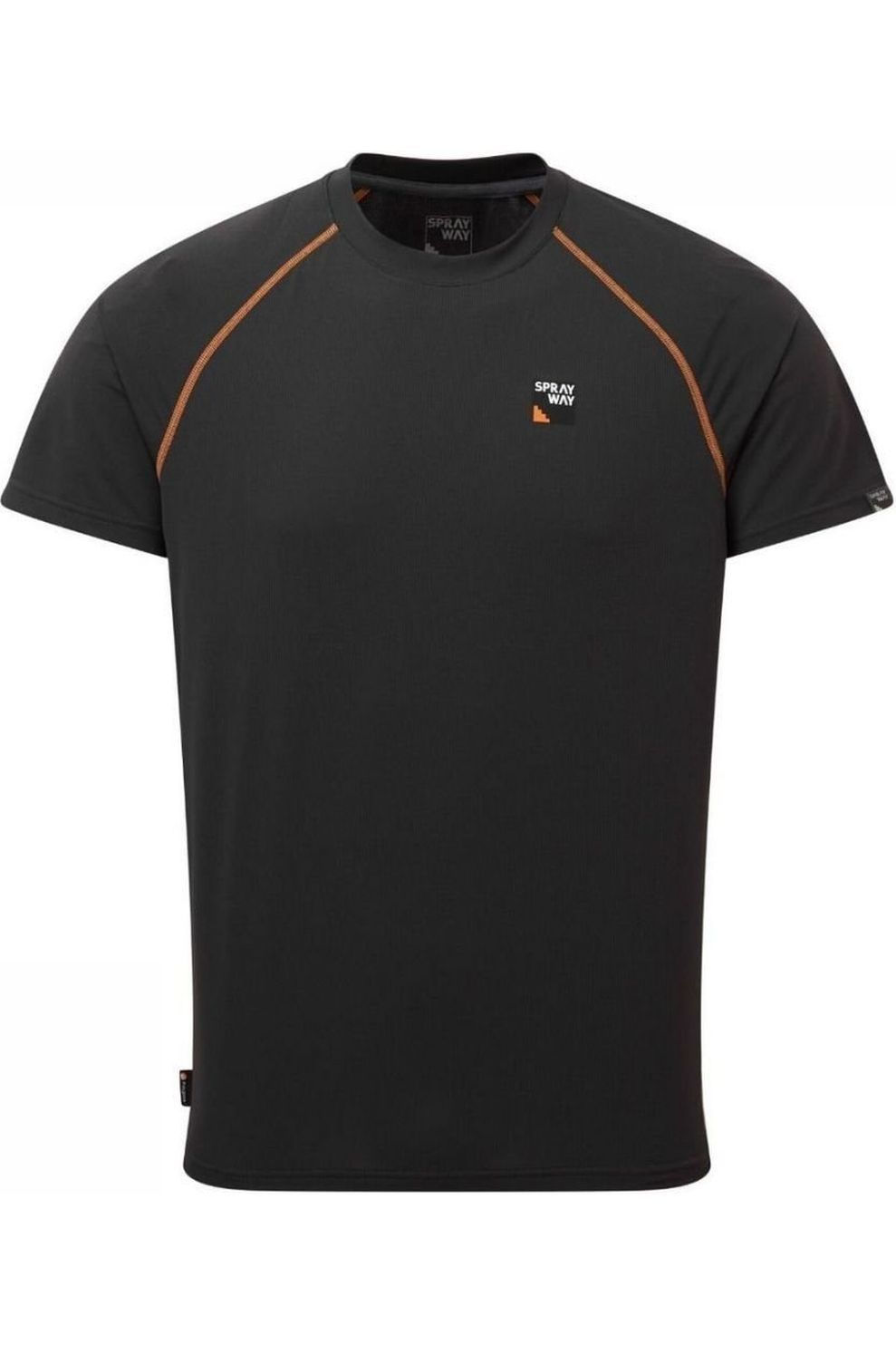 Sprayway T-Shirt Tech voor heren - Grijs - Maten: S, M, L, XL, XXL