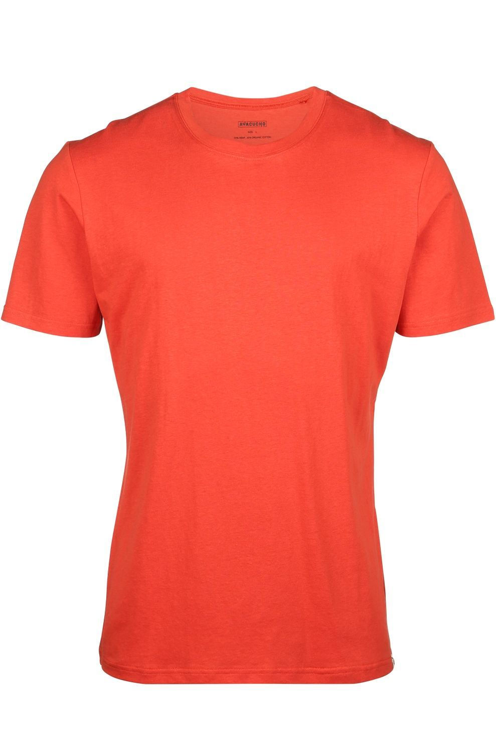 Ayacucho T-Shirt Goa M voor heren - Rood - Maten: S, M, L, XL, XXL