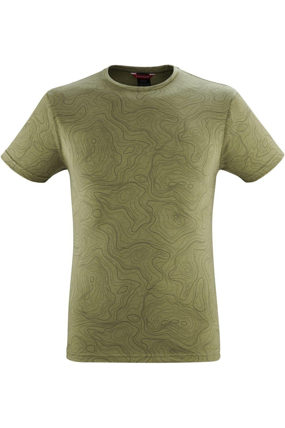 Lafuma T-Shirt Graphic voor heren - MiddenGroen - Maten: L, XL, XXL