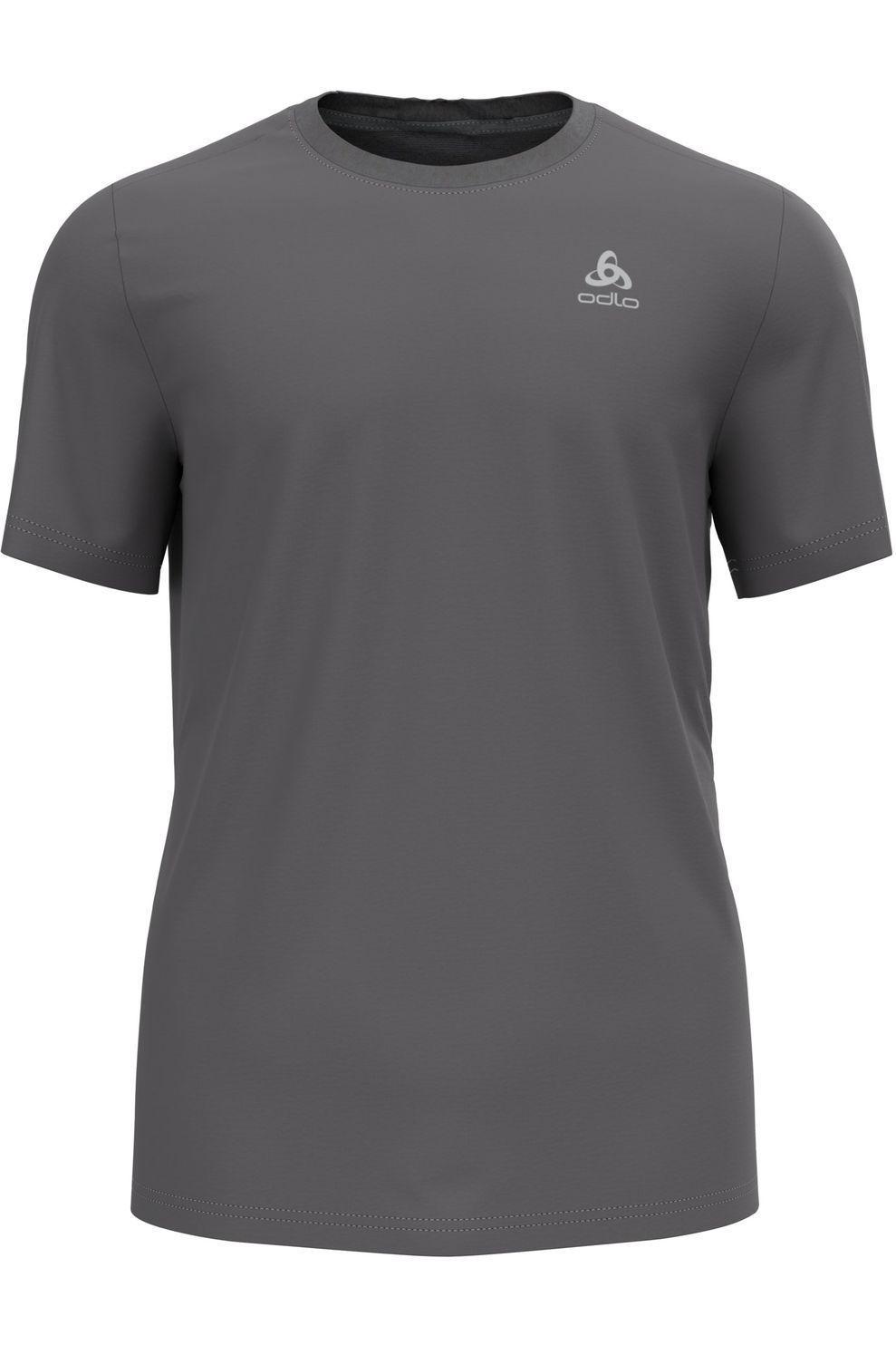 Odlo T-Shirt Neck F-Dry voor heren - Grijs - Maten: S, M, L