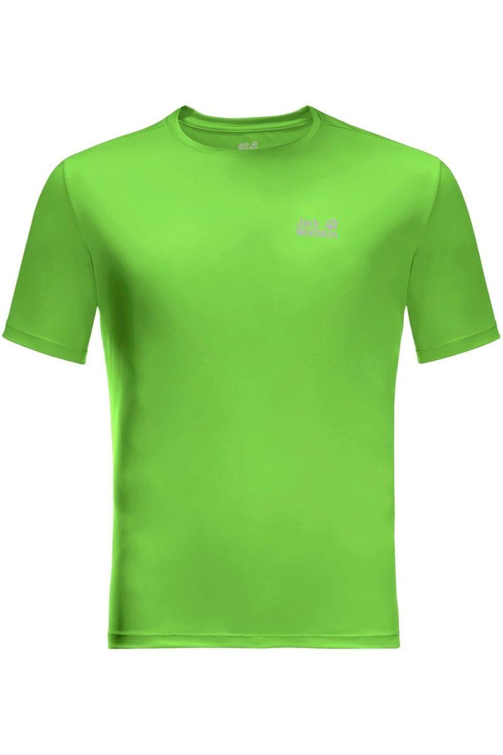 Jack Wolfskin T-Shirt Tech voor heren - Groen - Maten: M, L, XL, XXL, XXXL