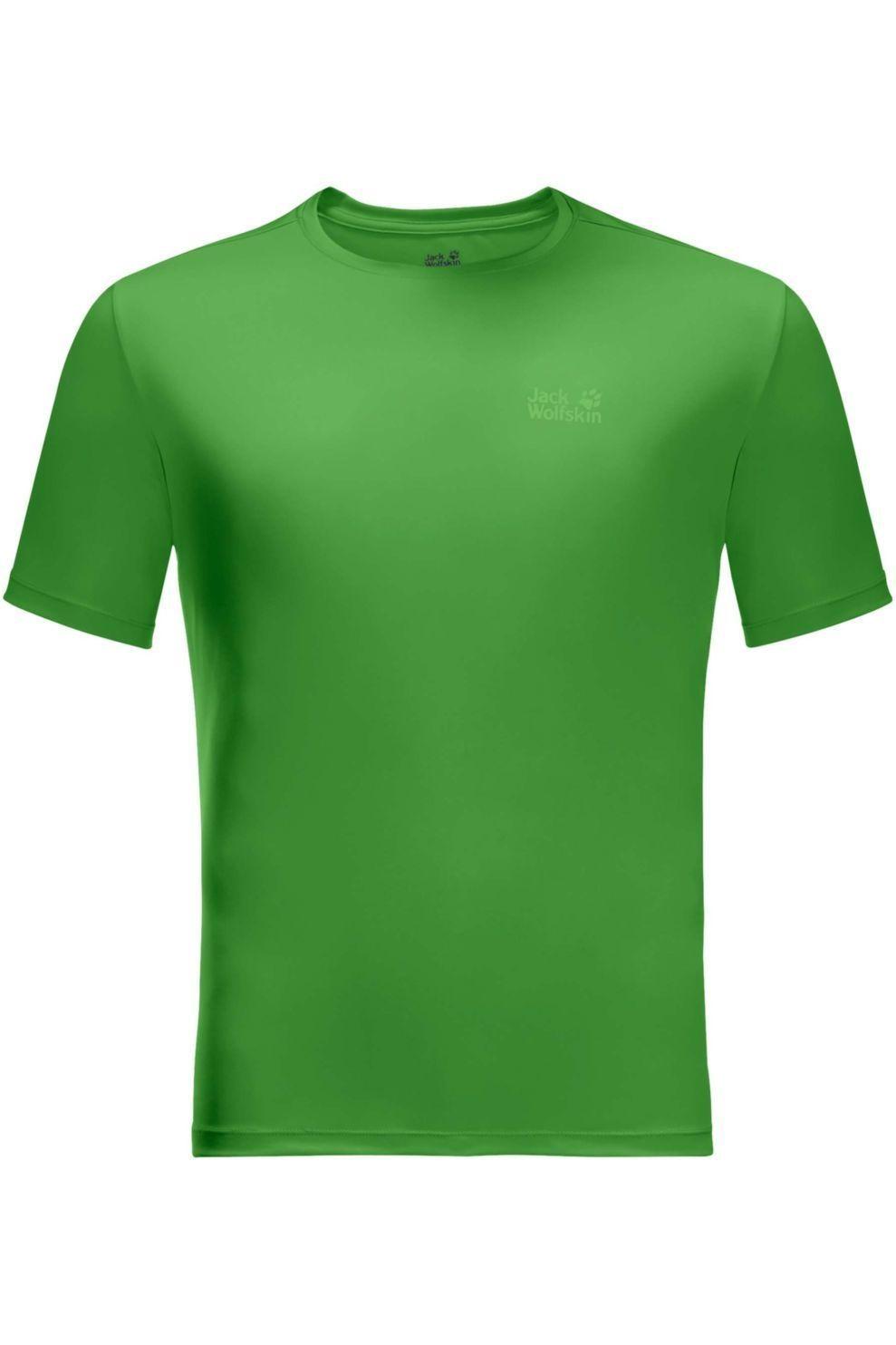 Jack Wolfskin T-Shirt Tech voor heren - Groen - Maten: S, M, L, XL, XXL, XXXL