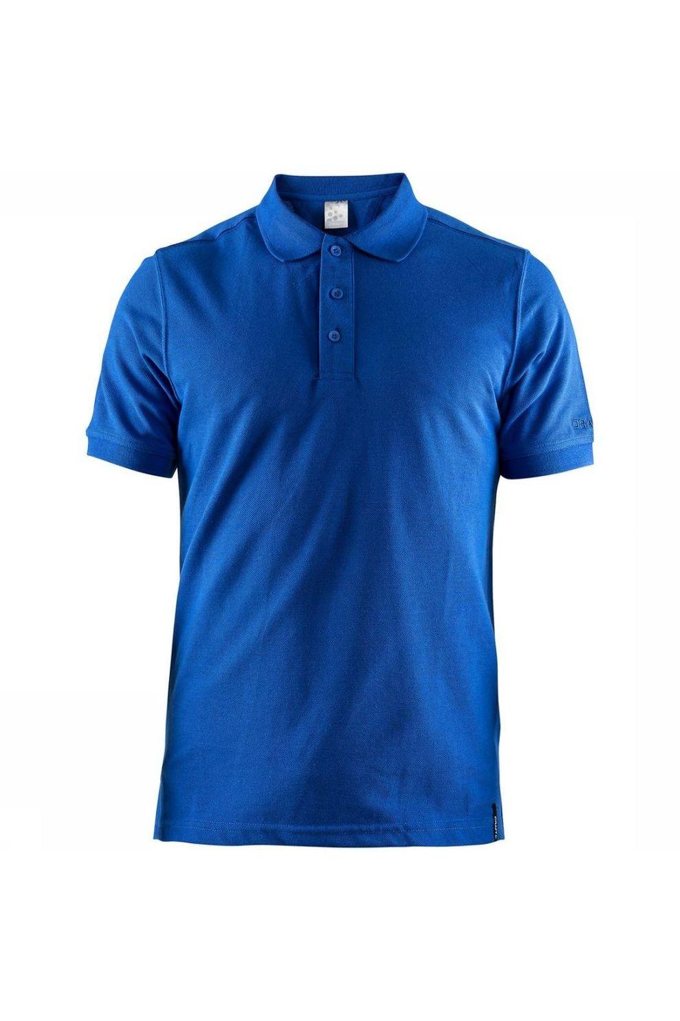 Craft Polo Casual Polo Pique voor heren - Blauw - Maten: S, M, L, XL, XXL, XXXL, XXXXL