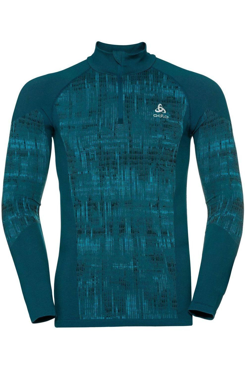Odlo Fleece Blackcomb voor heren - Blauw - Maten: S, M, L, XL