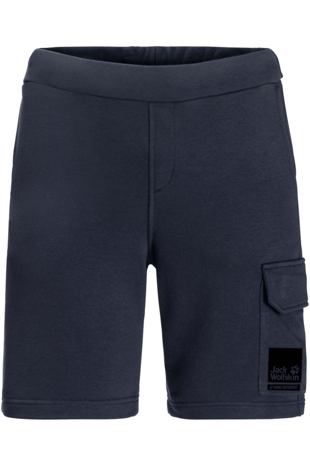 Jack Wolfskin Short 365 Thunder voor heren - Blauw - Maten: S, M, L, XL, XXL, XXXL