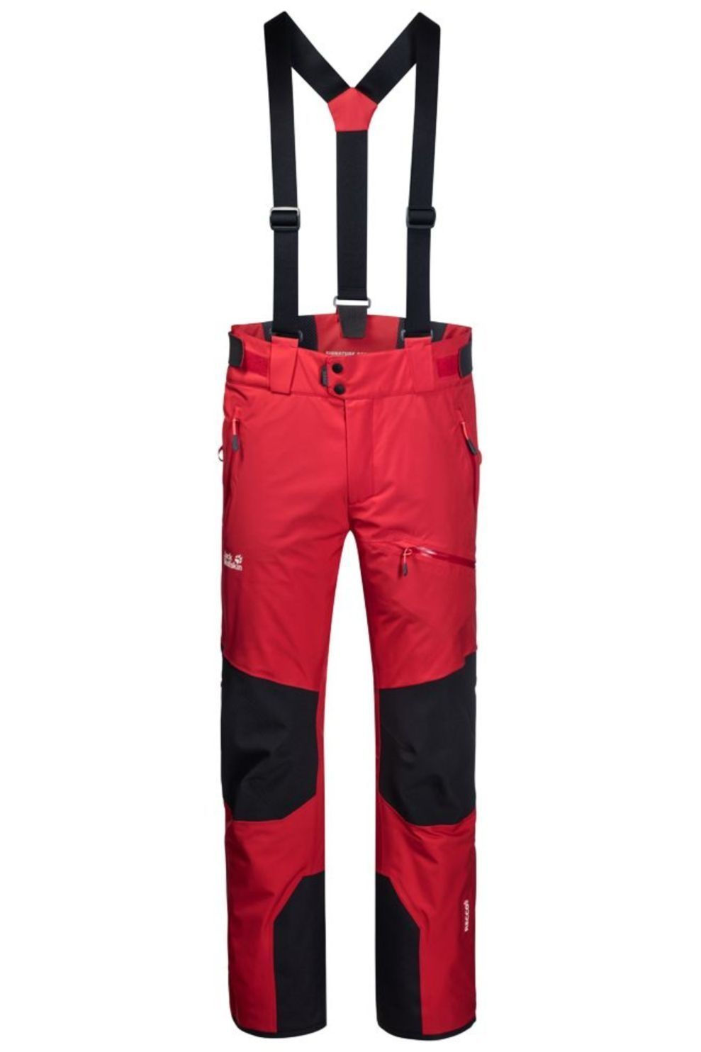 Jack Wolfskin Broek Snow Summit voor heren - Rood - Maten: 48, 50, 54