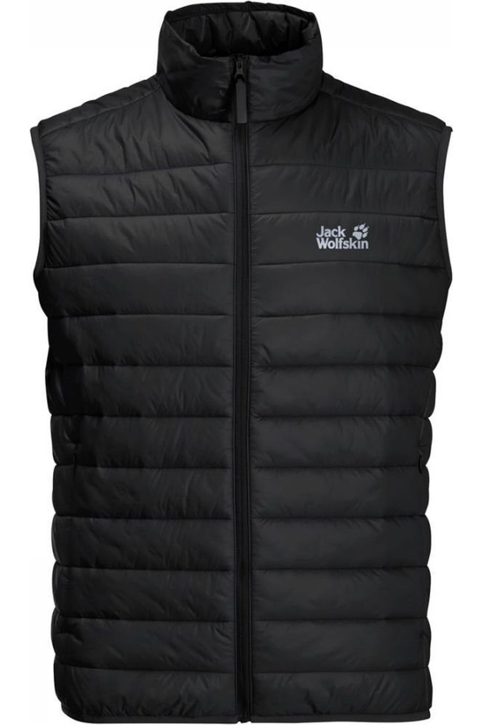 Jack Wolfskin Bodywarmer Jwp Pack And Go! voor heren Zwart Maten: M, L, XL, XXL