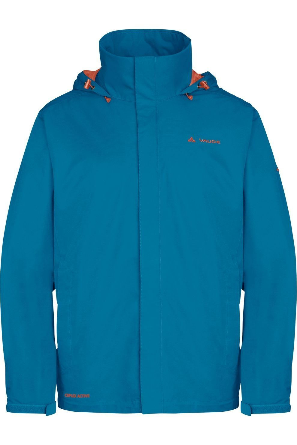 VAUDE Jas Escape Light voor heren - Blauw/Oranje - Maten: S, M