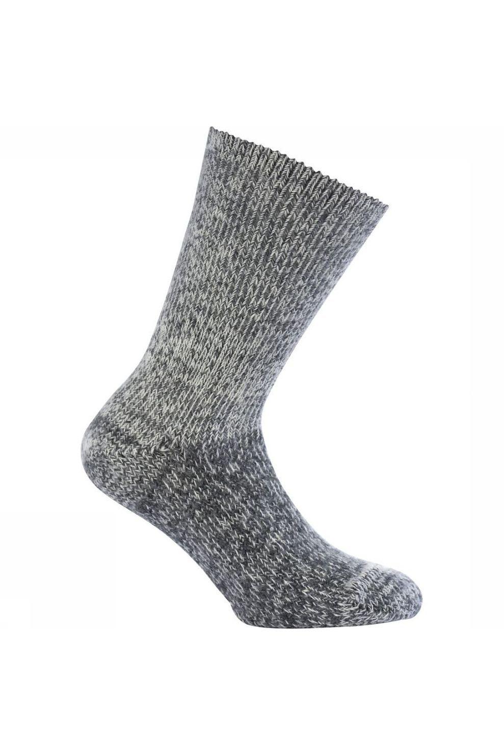 Woolpower Kous Classic 800 (warmest everyday sock) - Grijs Mengeling - Maten: 37/39, 40/42, 43/45, 4