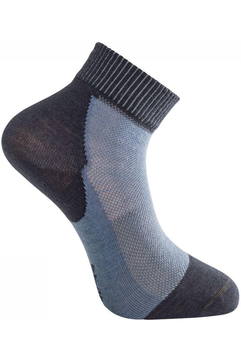 Woolpower Kous Skilled Short Liner - Blauw - Maat: 45/48