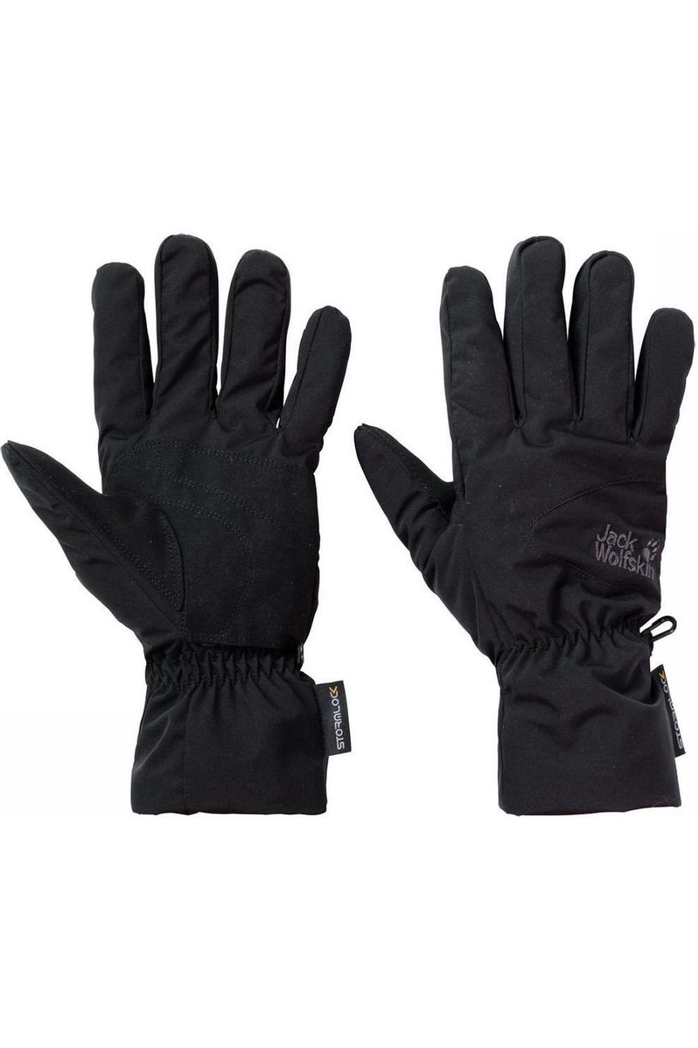 Jack Wolfskin Handschoen Stormlock Highloft voor heren Zwart Maten: M, L, XL