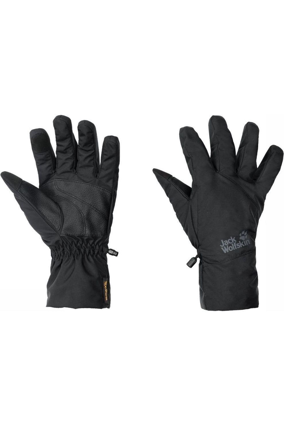 Jack Wolfskin Handschoen Texapore Basic - Zwart - Maten: XS, S, XL