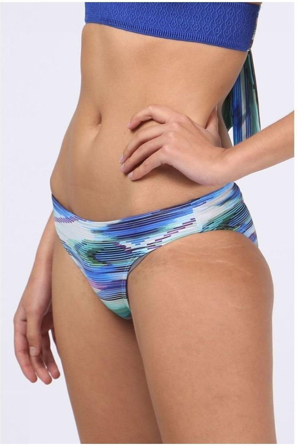 Kiwi Slip Inca Normale voor dames - Blauw/ Gemengd - Maten: 36, 38, 40, 42