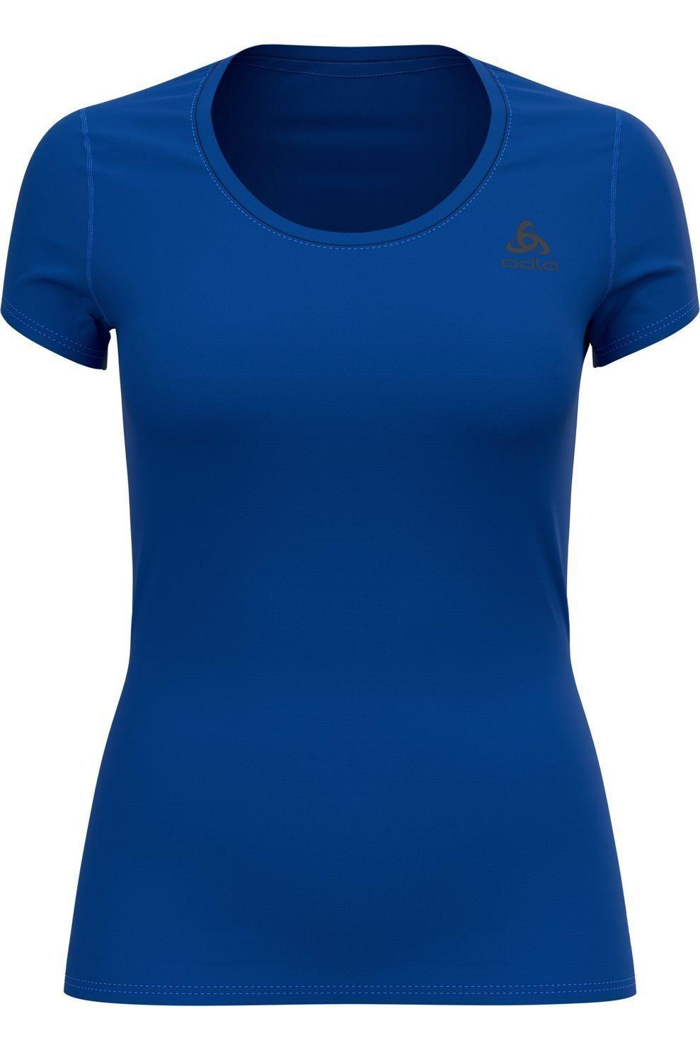 Odlo Ondergoed Odlo Active F-Dry Light Shirt S/S voor dames - Blauw - Maten: XS, S, XL