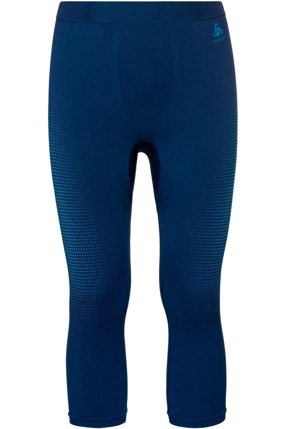 Odlo Ondergoed 3/4 Performance Warm Eco voor heren - Blauw - Maten: S, M, L, XL, XXL