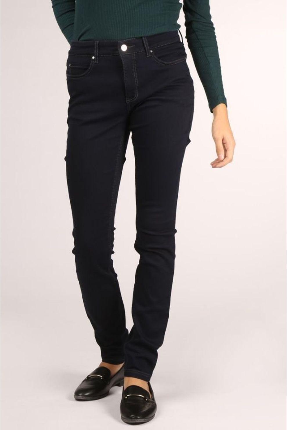 MAC Jeans 0355L-5402-90 voor dames - Blauw - Maten: 32/32, 34/32, 36/32, 36/34, 38/32, 38/34, 40/32,