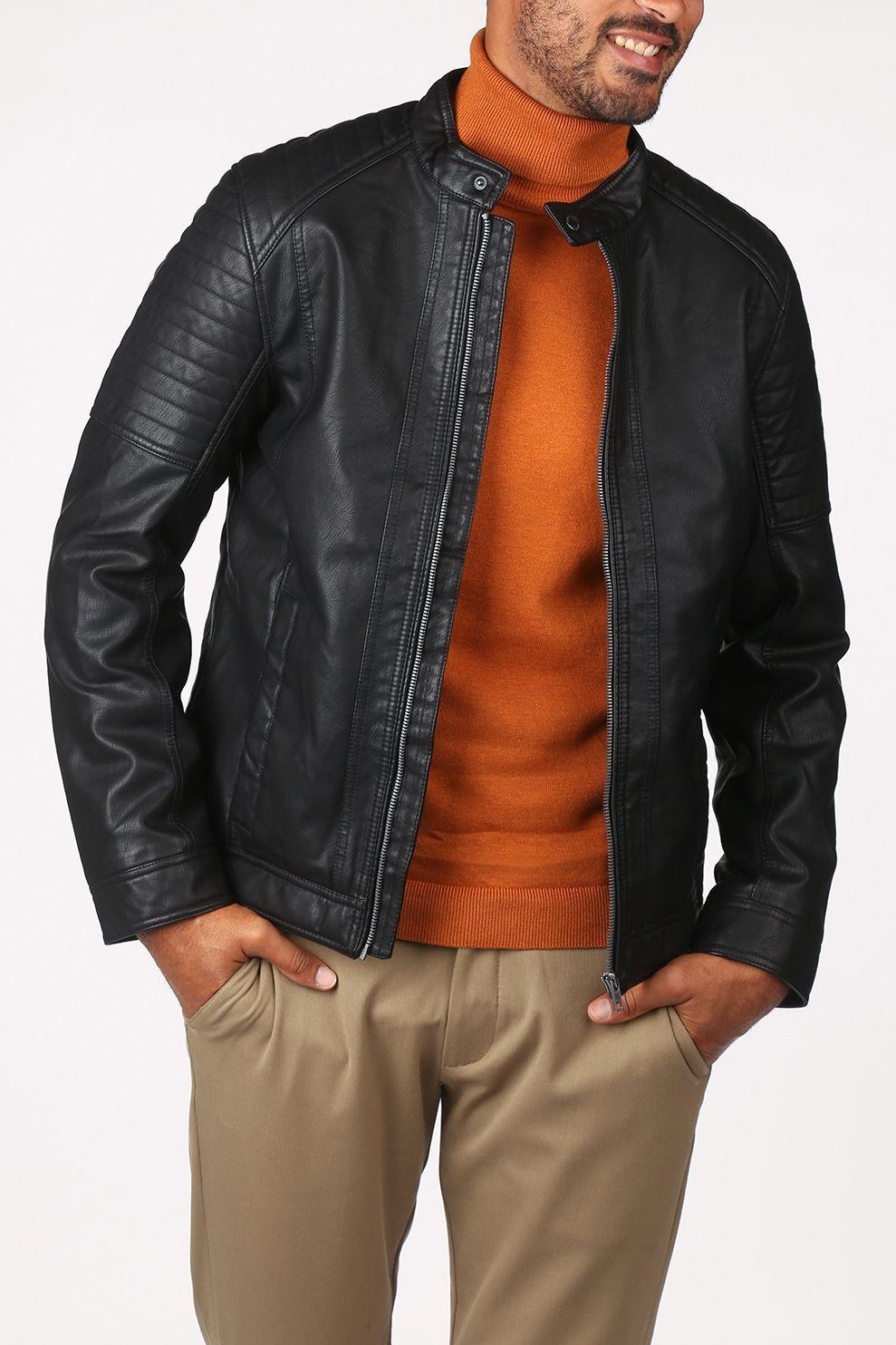 Tom Tailor Jas 1023172 voor heren - Zwart - Maten: S, M, L, XL, XXL