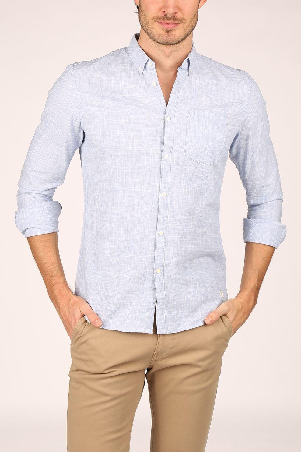 Tom Tailor Hemd 1022745 voor heren - Blauw - Maten: M, L, XL, XXL