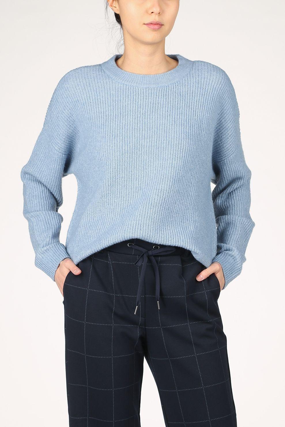 Tom Tailor Trui 1023919 voor dames - Blauw - Maten: XS, S, M, L, XL