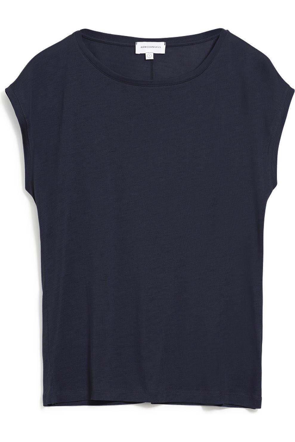 ARMEDANGELS T-Shirt Jil voor dames - Blauw - Maten: XS, S, M, L, XL