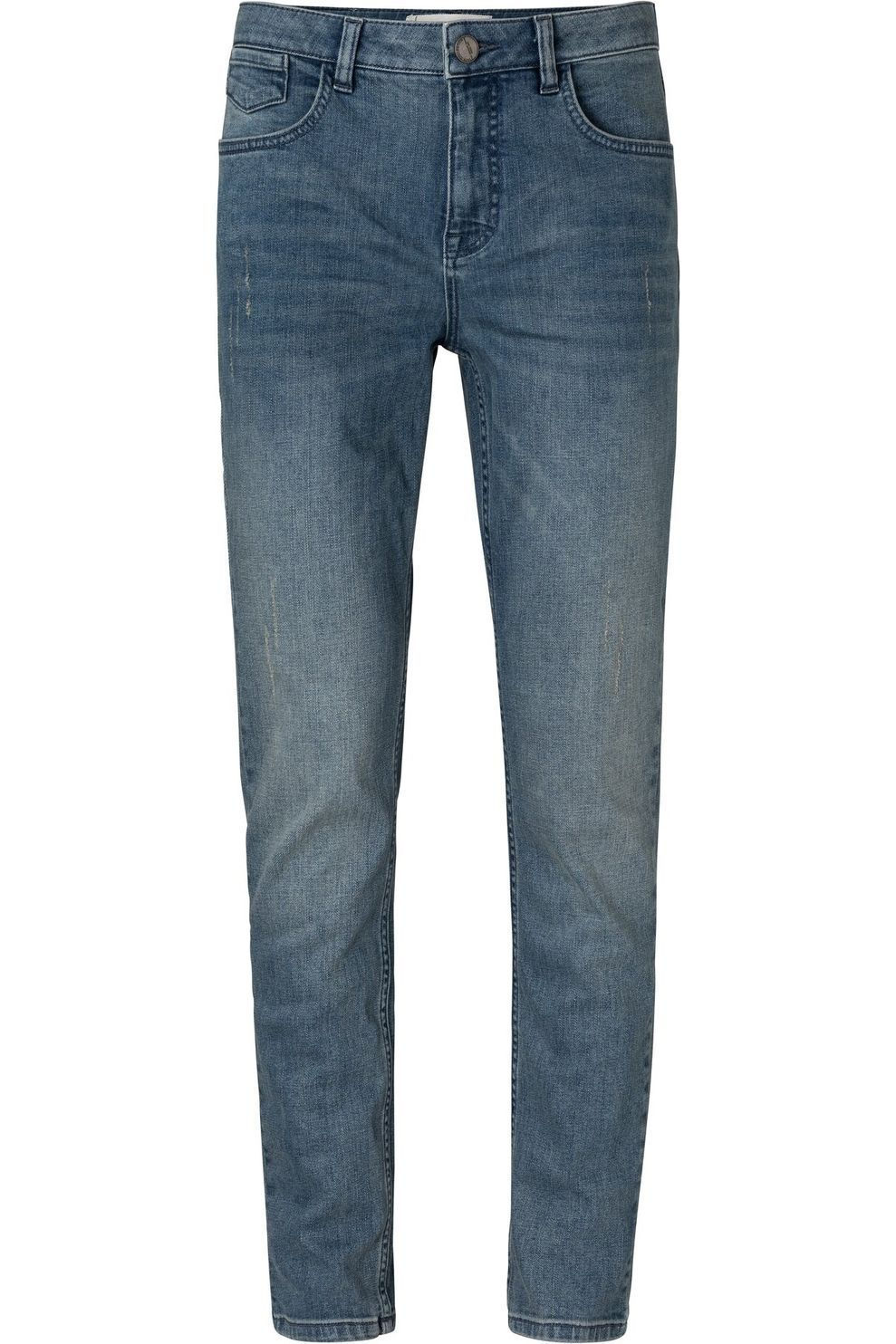YAYA Jeans Medium Waist Boyfriend Denim voor dames - Blauw - Maten: 36, 38, 40